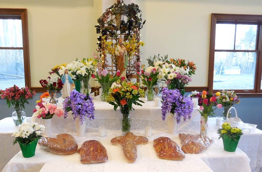 St. Joseph Table Celebration
